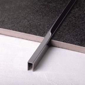 Профиль Juliano Tile Trim SUP05-1S-10H Silver (2440мм)