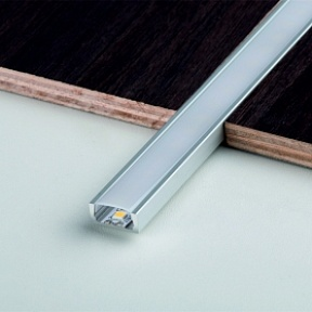 Профиль Juliano LED Tile Trim ALE805 Aluminium (3000мм)